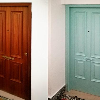 Pintar puertas de madera con EggShell: el proceso en vídeo