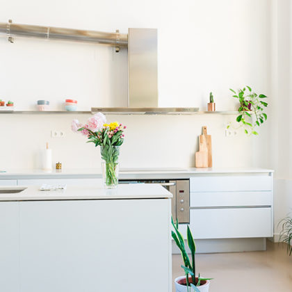 Las cocinas nuevas también se pintan (antes y después)