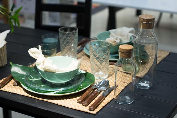 novedades-ikea--verde-tropical-en-la-mesa
