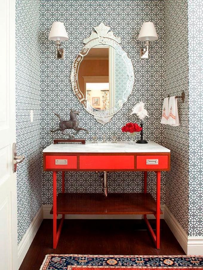 pintar muebles de baño