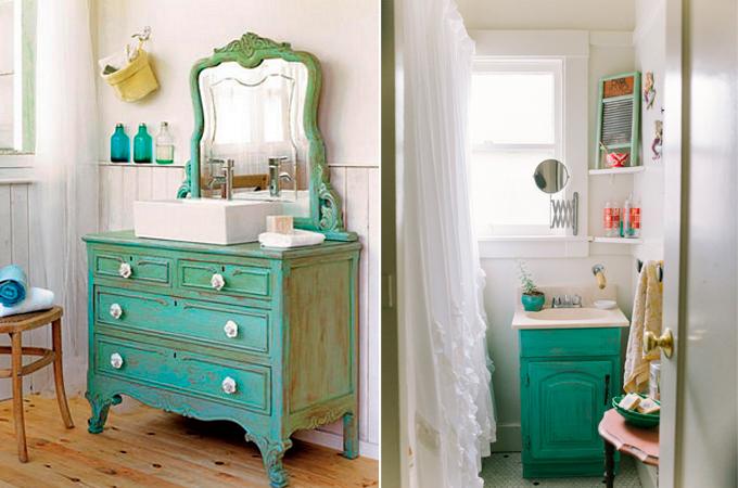Pintar muebles de ba o ideas e inspiraci n - Pintar bano con hongos ...
