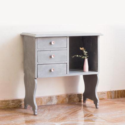 Antes y después: pintar un mueble con Chalk Paint y cera blanca