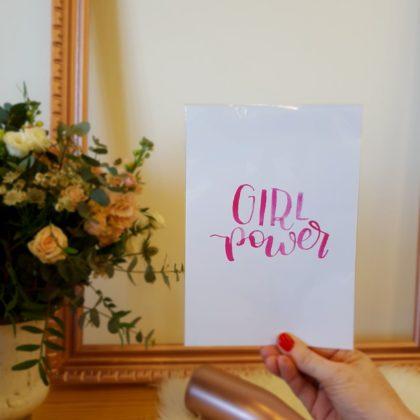 Womprende: grandes mujeres y decoración Rose Gold