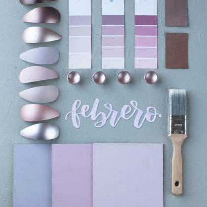 El nuevo color de Febrero se llama Silver Rose