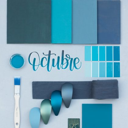 Azul petróleo: el color de moda en decoración esta temporada