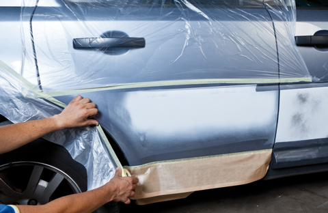 reparar un arañazo coche