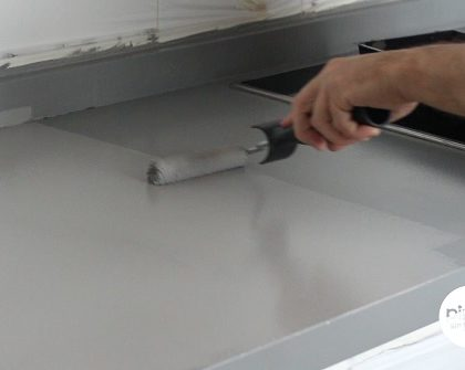 Cómo pintar una encimera (mármol, granito silestone o culquier superficie)