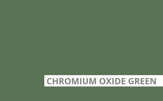 Chronium Oxide Green