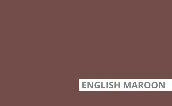 English maroon