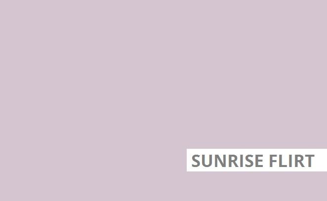 Sunrise flirt