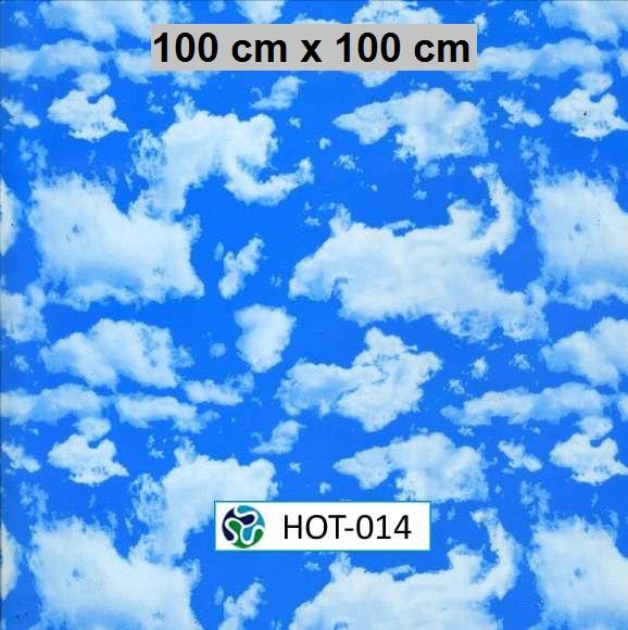 Film hidroimpresión nubes