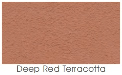 Terracota deep red